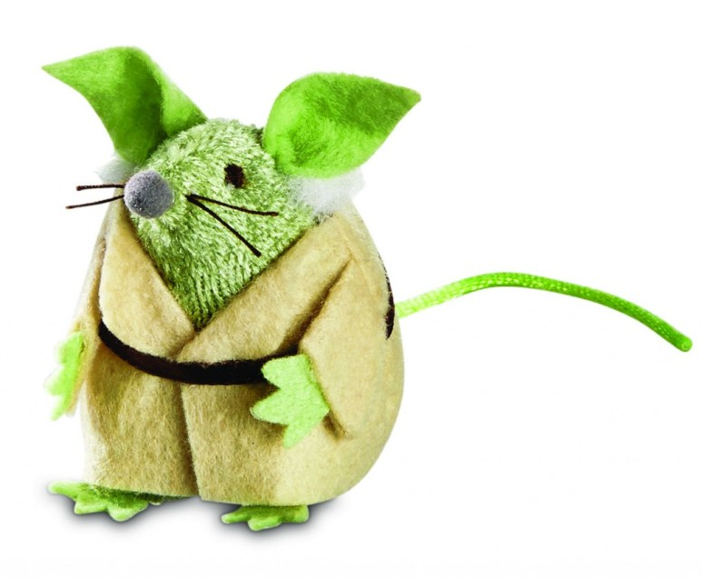 Yoda cat toy