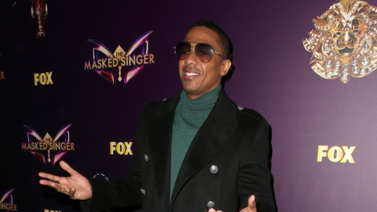 Nick Cannon on the red carpet