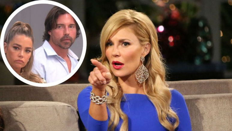 RHOBH star Brandi Glanville wans a relationship with Denise Richards and her husband.