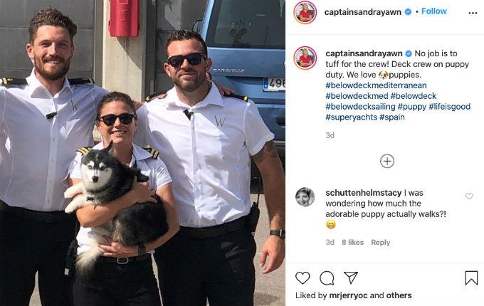 Captain Sandy Scout post
