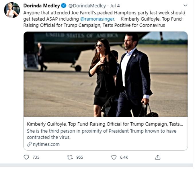 Dorinda calls out Ramona on Twitter
