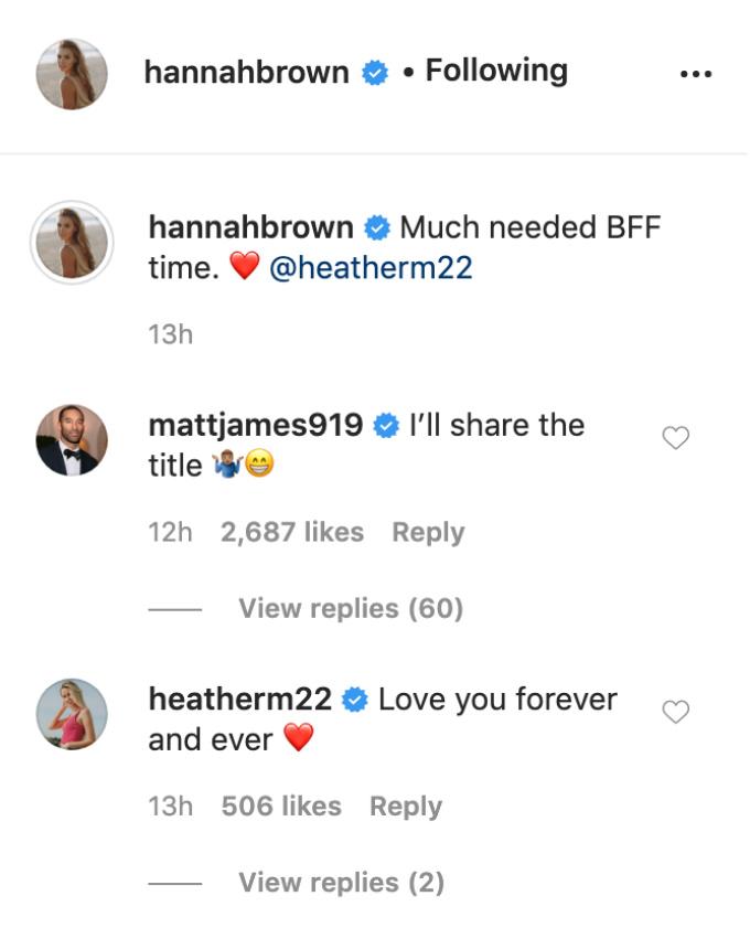 Hannah Brown IG