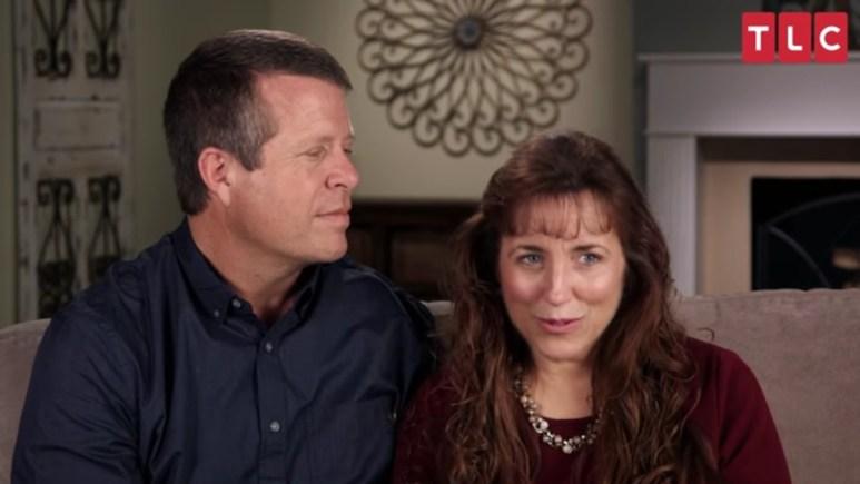 Jim Bob and Michelle Duggar in TLC confessional.