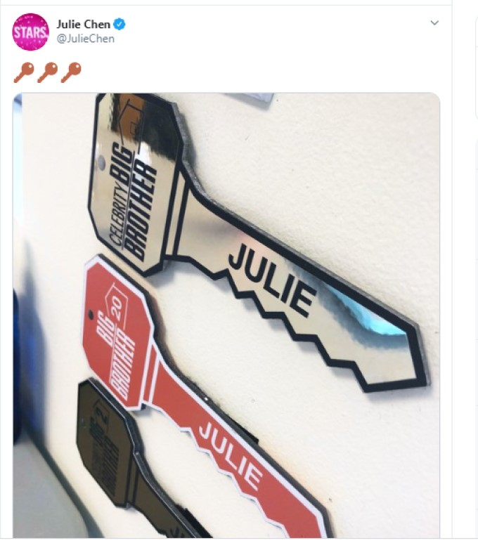 Julie Twitter Keys