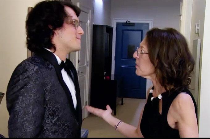 MAFS Bennett and his mom talking