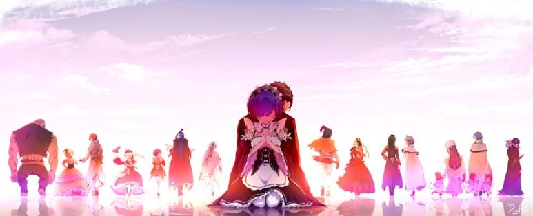 Re Zero Anime Characters