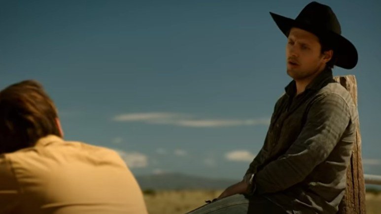 A still shot from Roswell, New Mexico
