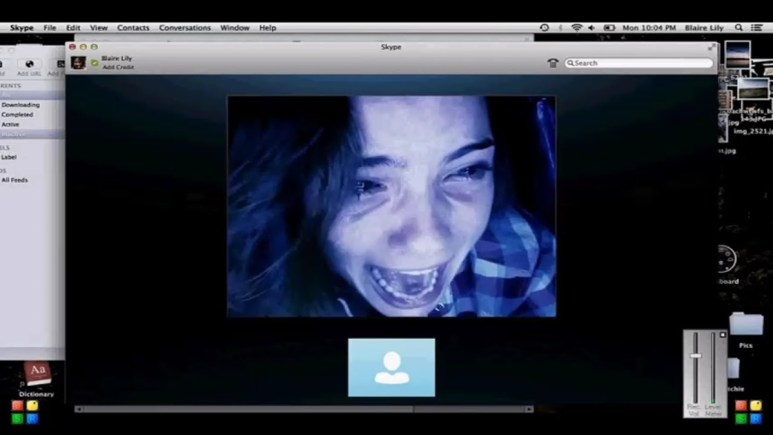 Shelley Hennig in Unfriended.