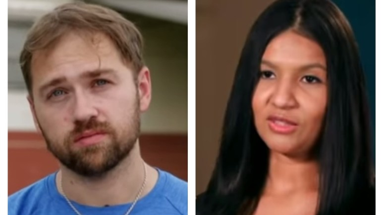 Paul and Karine on 90 Day Fiance: Happily Ever After? Pic credit: TLC