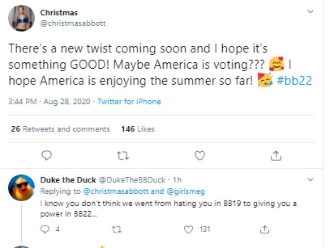Christmas On Twitter