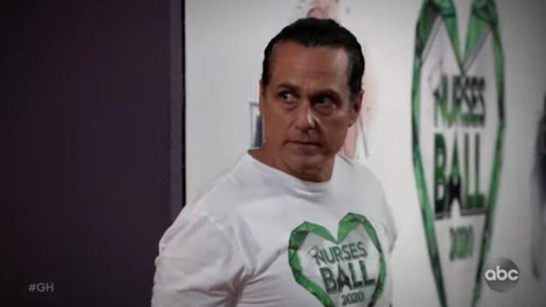 Maurice Benard as Sonny Corinthos on General Hospital.
