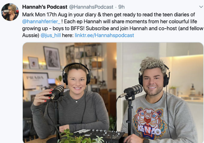 Hannah Ferrier is starting a podcast after Below Deck Med,