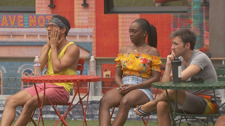 BB22 Cast Playing A Game