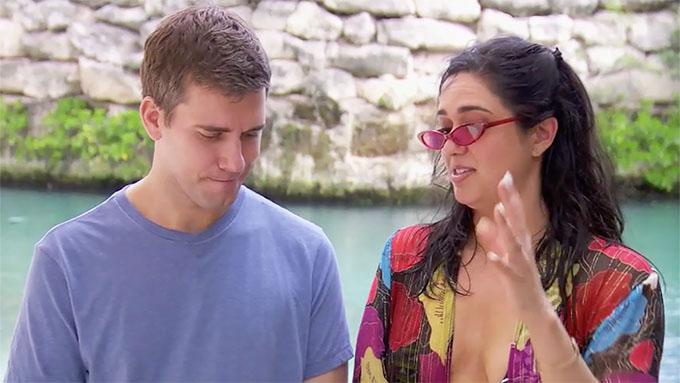 MAFS Season 11 couple Christina and Henry looking awkward on their honeymoon
