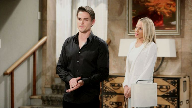 The Young and the Restless spoilers tease Adam spirals as Sharon sets boundaries to help him.