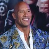 The Rock on the red carpet