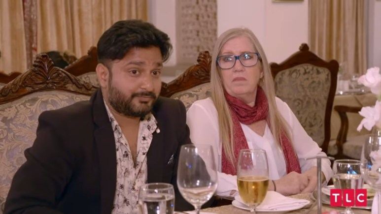 Jenny and Sumit on 90 Day Fiance: The Other Way. Pic credit: TLC