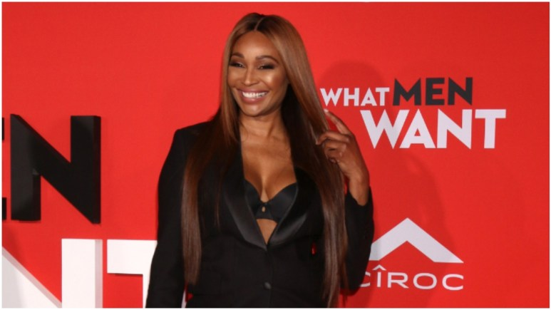 """Cynthia Bailey at the """"What Men Want"""" Premiere at the Village Theater in January 2019."""