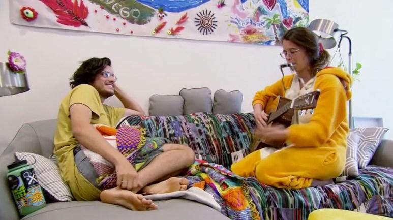 MAFS Season 11 Amelia singing Bennett a song