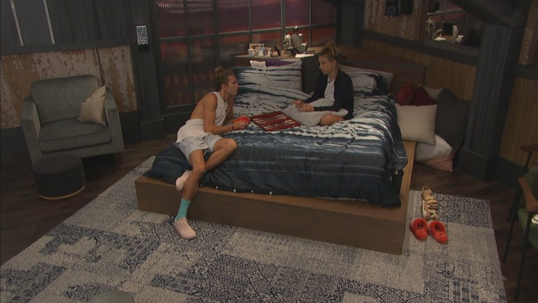 Tyler And Christmas On BB22