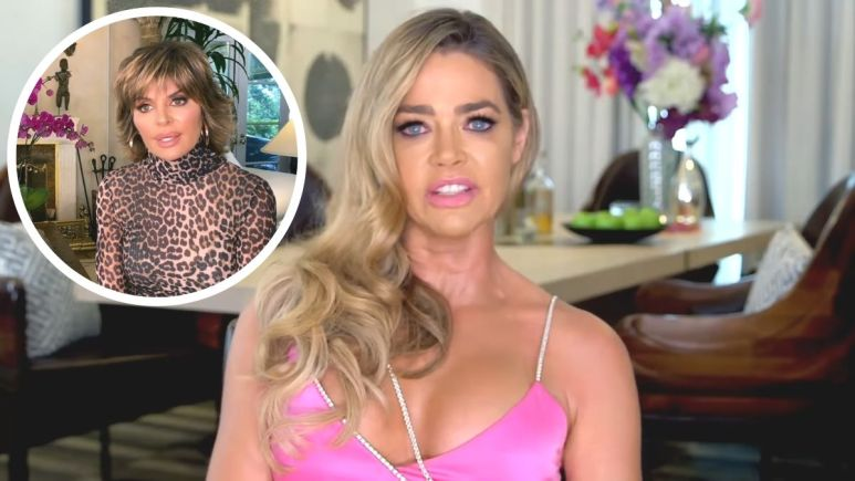 Denise Richards says she wants and apology from friend and cast mate Lisa Rinna