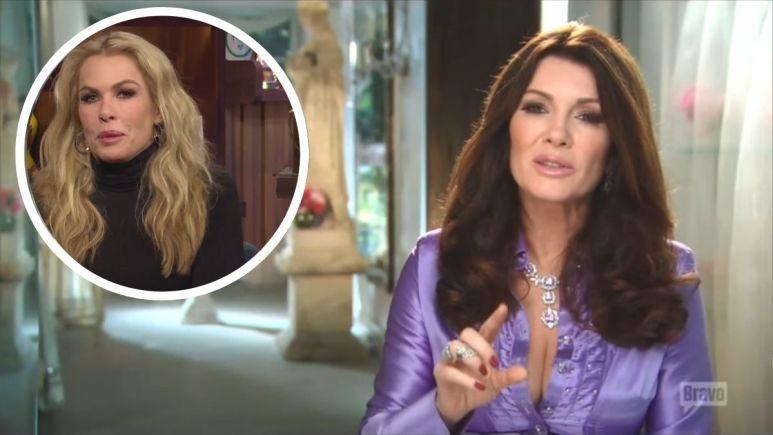 Former RHOBH cast member Kathryn Edwards talks about Lisa Vanderpump