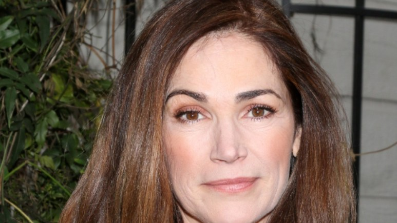Kim Delaney at the All My Children reunion.