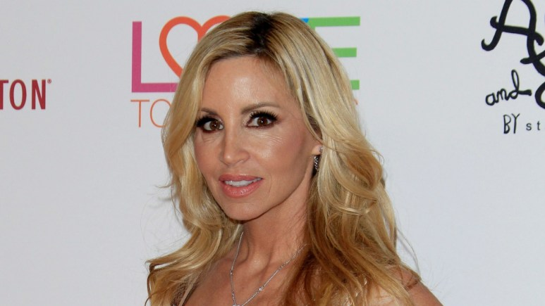 Camille Grammer doesn't shy away from a good RHOBH feud. Pic credit: