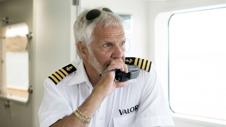 Below Deck's Captain Lee gets real about filming amid pandemic.