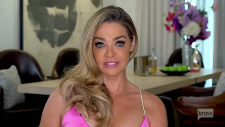 Denise Richards at the RHOBH reunion.