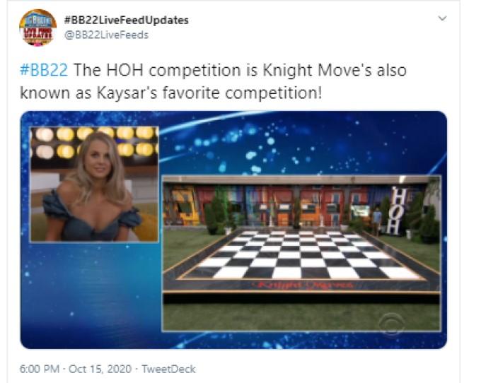 Final Four HOH