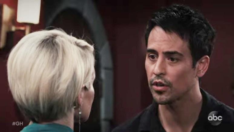 Marcus Coloma as Nikolas on General Hospital.