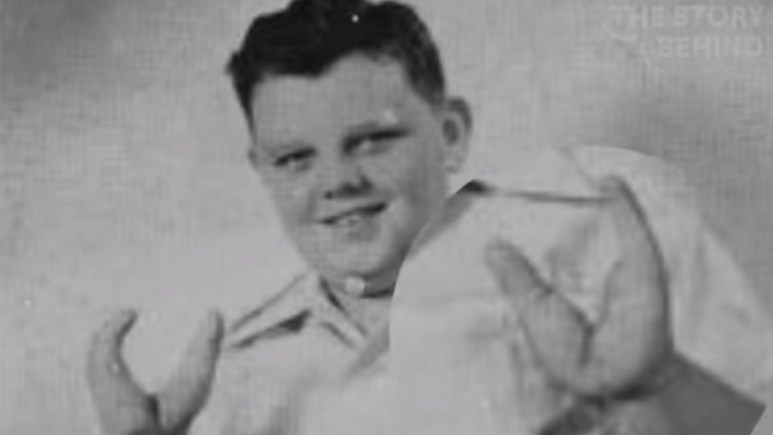 Grady Stiles pictured as a boy