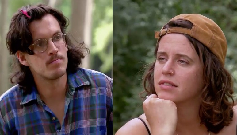 MAFS Season 11 Amelia looking at Bennett confused