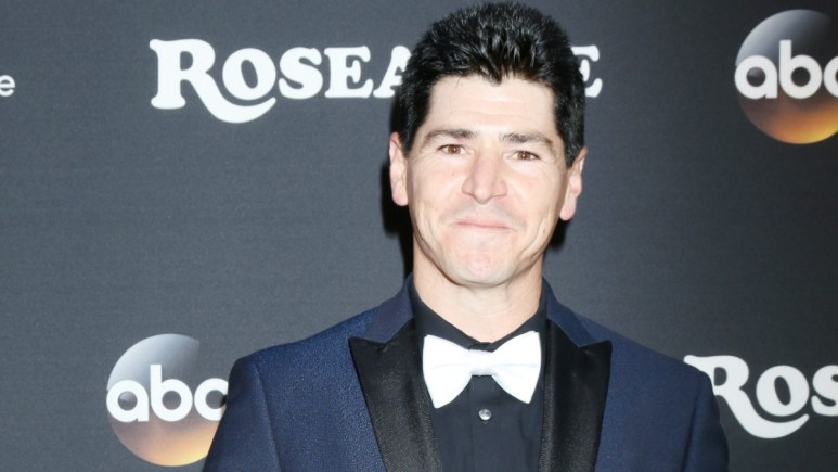 Michael Fishman on the red carpet