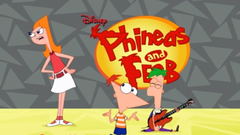 Title shot for Phineas and Ferb