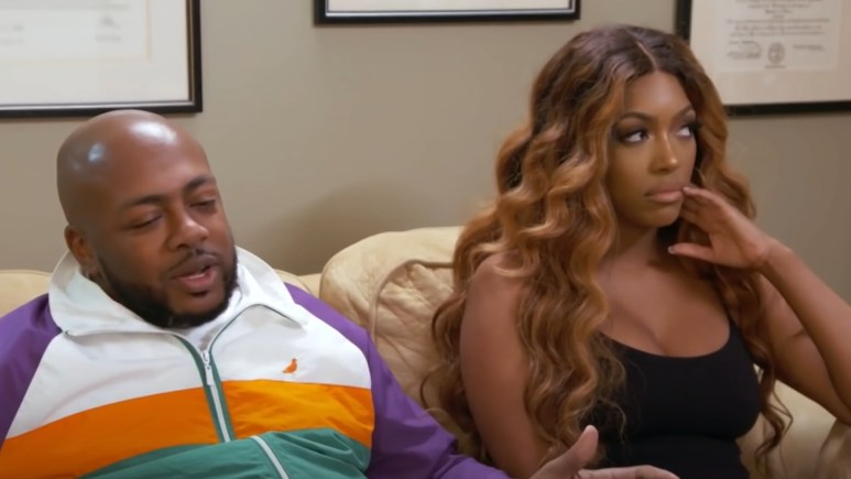 Dennis and Porsha argue