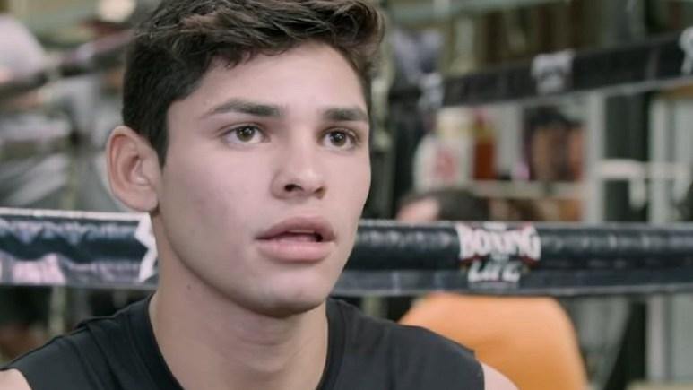 Professional Boxer Ryan Garcia