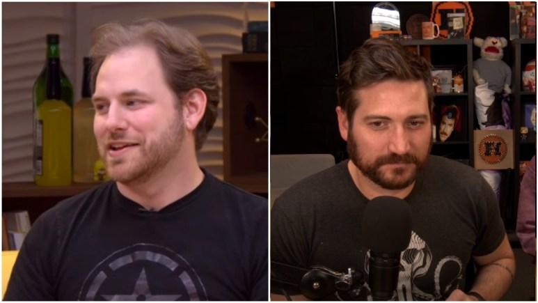 Ryan Haywood and Adam Kovic