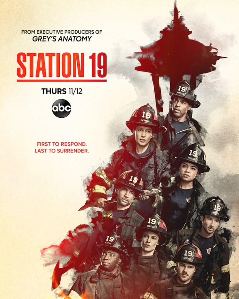 STATION 19 poster