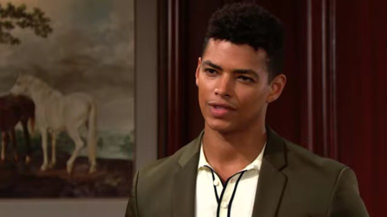 Delon de Metz as Zende on The Bold and the Beautiful.