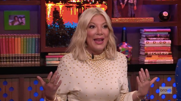 Tori Spelling on Watch What Happens Live