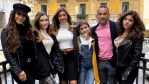 Teresa and Joe Giudice with their four daughters