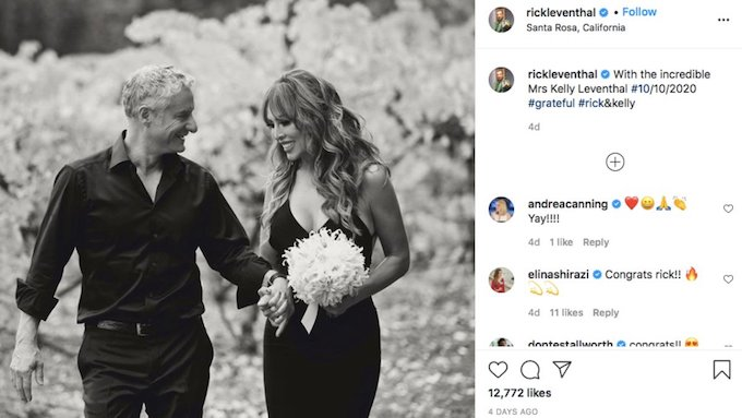 Rick Leventhal and Kelly Dodd marry.