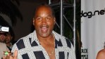 OJ Simpson attending a aprty in 2005