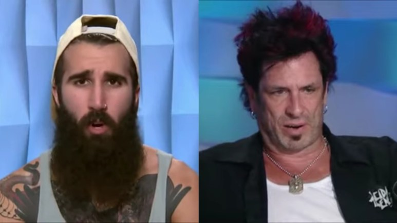 Paul Abrahamian and Evel Dick Donato on Big Brother.