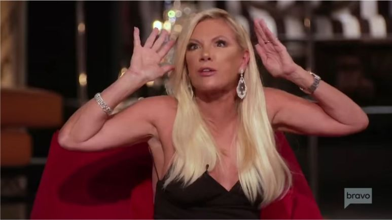 Real Housewives of New York star, Ramona Singer, says Elyse Slain is a black widow during reunion episode.