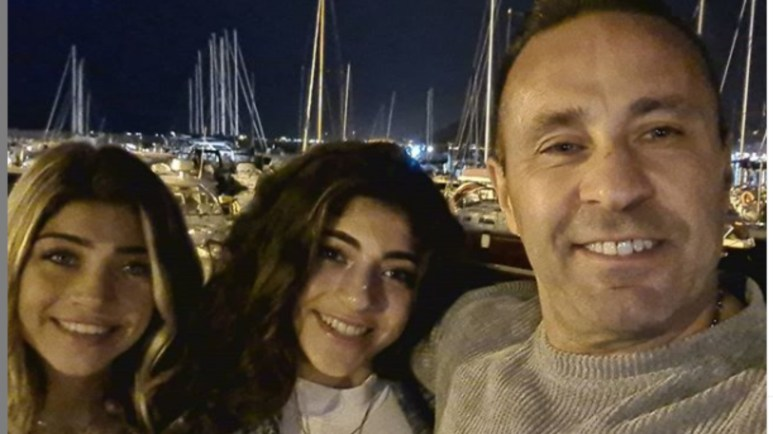 Gia, Milania, and Joe Giudice in Italy. Pic credit: @Joe.giudice/Instagram