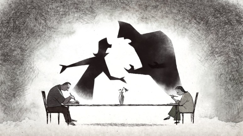 Animated still from the film If Anything Happens I Love You
