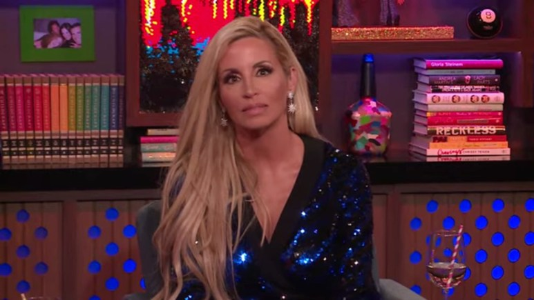 Camille Grammer on WWHL.